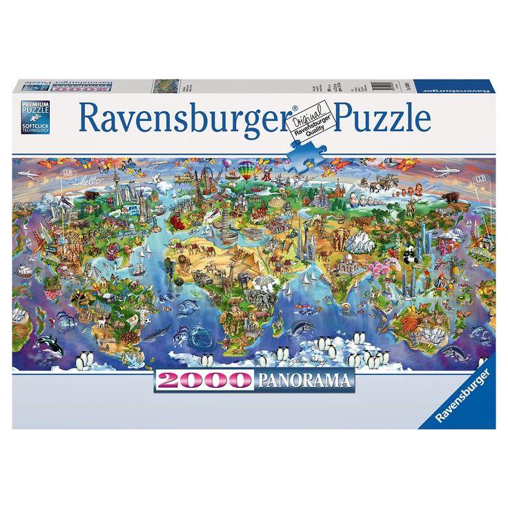 Ravensburger World Wonders Panorama Puzzle - 2000 Pieces