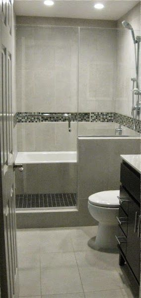 Bath Tub in Shower / Wet Room Bathroom Remodel