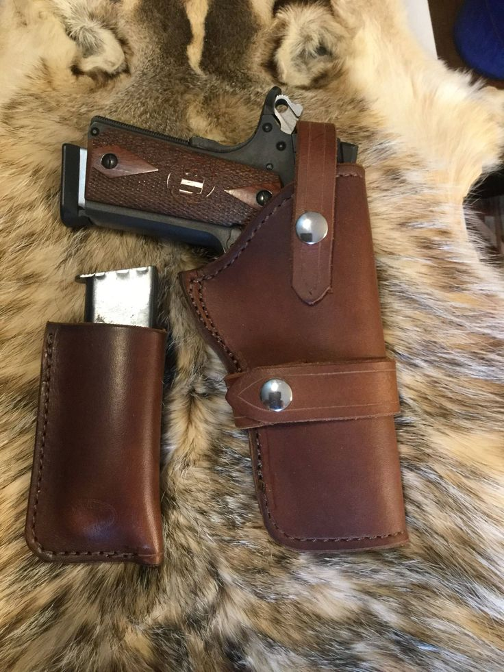 A personal favorite from my Etsy shop https://www.etsy.com/listing/567937674/1911-holster-and-magazine-pouch