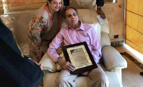 Hello, Dilip Kumar. Actor Shares Pics And Messages With Wife Saira Banu