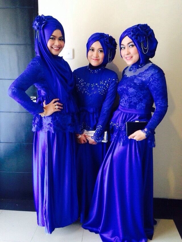 Blue ladies