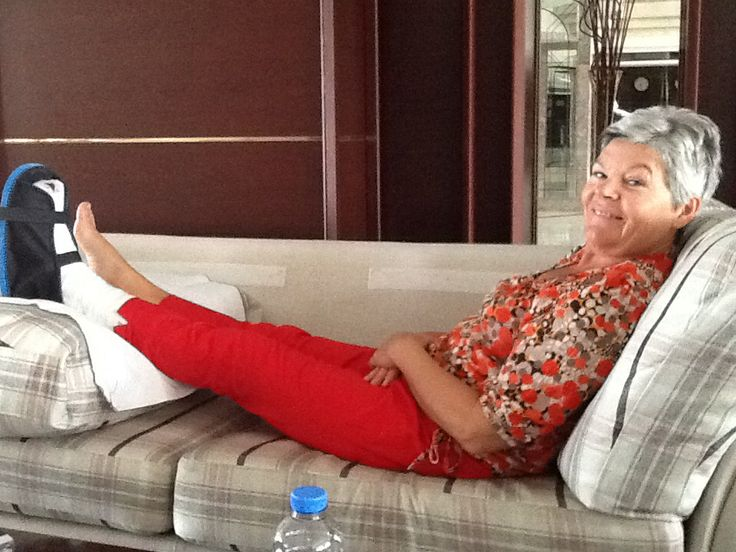 Op vakantie in Turkije ,minder leuk is een gebroken teen