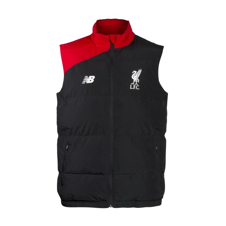 LFC Black Gilet 15/16 | Liverpool FC Official Store