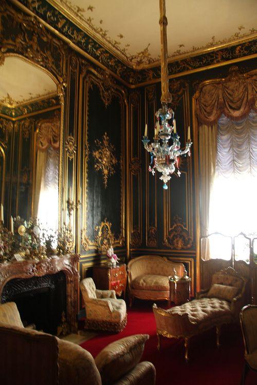 very elegant castle interiors arredamento parigino