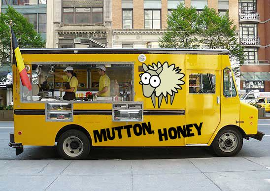 food trucks | ... food truck has honey mutton biscuits that come in their own wool http://food-trucks-for-sale.com/