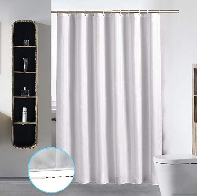 Amazon Com Stall Shower Curtain Liner For Bathroom Washable Fabric Waterproof Cloth Polyester Best Fabric Shower Curtains Shower Curtain Boho Shower Curtain