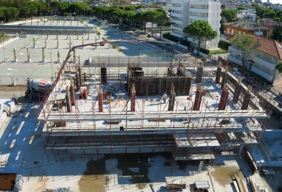 June 2013 - Last month of building works before the summer stop #soleis #realestate #forsale #italy #lignano