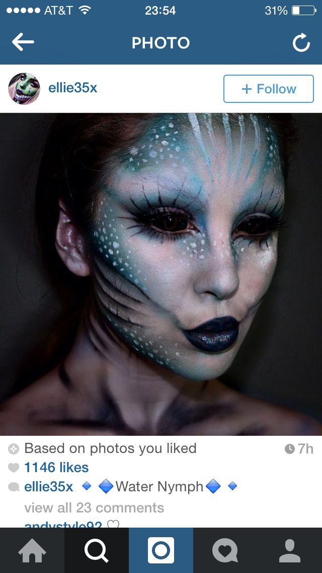 Scary mermaid ..add hook in cheek
