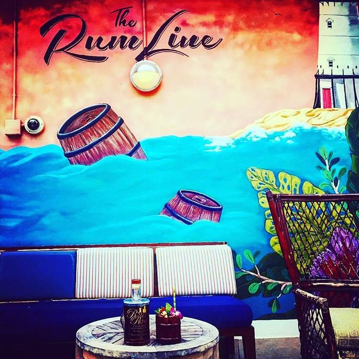The Best Beachside Bars In Miami The Rum Line Located in the heart of South Beach, this outdoor terrace bar and lounge is incredibly inviting, and why wouldn't it be? With over 100 different varieties of rum available, this bar is an islander's paradise. Having been closed this summer for renovations, The Rum Line is ready to open again and you can be sure the clientele have been eagerly awaiting the date of the new opening. The bar's name is actually a salute to Prohibition days, when ships…