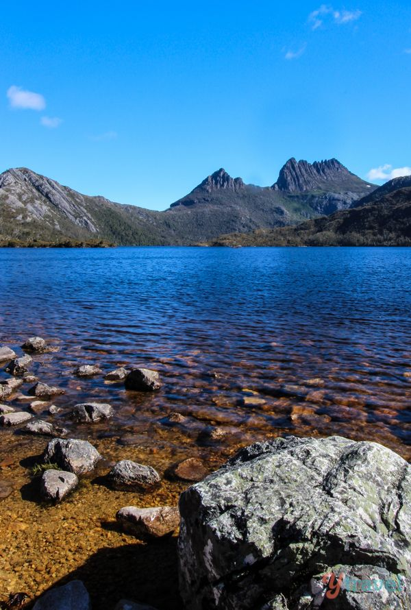 "Dove Lake, Tasmania - click inside to learn about the ""Best of Australia"" in travel."