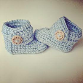 Angels handmade with love: Baby Booties haakpatroon!