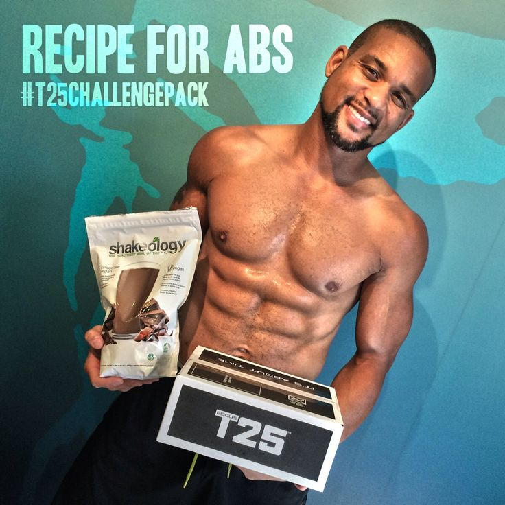 This is such a great recipe !!!  Use T25 and drink Shakeology each day = success  Visit www.beachbodycoach.com/BigEddieMerc   Shaun T. Motivates me each day to push harder!