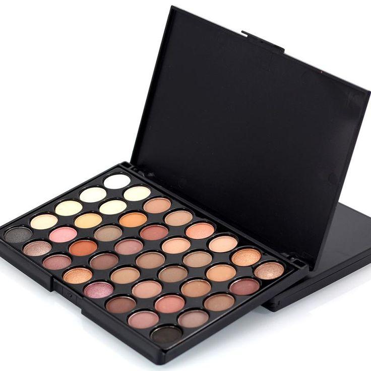 Popfeel 40 warna kosmetik powder palet eyeshadow makeup matt tersedia dropship n0303