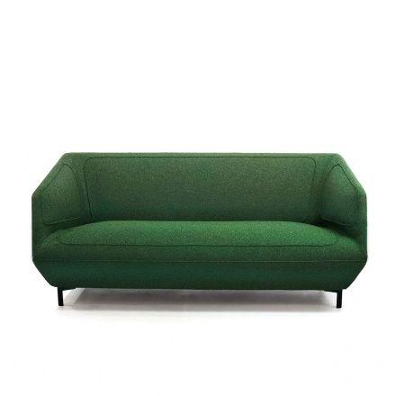 Tacchini/Divano Dressed verde/Arredamento Divani