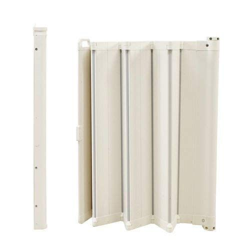 Babydan Guard Me Retractable Safety Gate Fits Spaces Between 21 7 35 2 Mounted Height 28 White Review Safety Gate Babydan Retractable Baby Gate