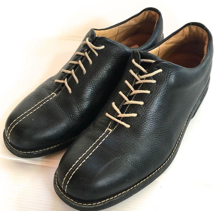 Sandro Moscoloni 11 1/2  Vineyard Black Oxford Black Lace-Up Anatomic Gel Shoes  #SandroMoscoloni #Oxfords