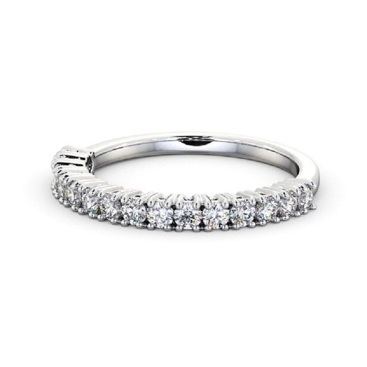 IGI Certificate Round Diamond Claw Set Half Eternity Wedding Ring,18k White Gold #Charujewels #Eternity #Wedding 0.15Ct Petite Twisted Vine Round Diamond Half Eternity Ring 14k White Gold #CharuJewels #Eternity #Wedding IGI Certificate 0.35Carat Round Bar Setting Eternity Diamond Band 14k White Gold #Charujewels #Eternity #Wedding #Diamond #Diamondbands #valentinesday #Solitaire #White #valentinesdayri #Rose #Ring #Ebay #18 #karat #14 #valentinesdayring #Travel #Pin #Interest…