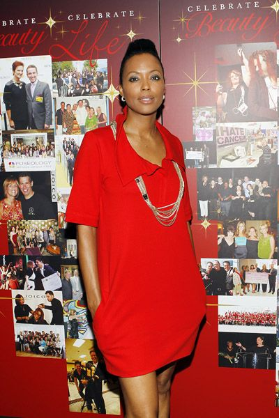 Aisha Tyler supports Joico Hair Care Professionals at the City of Hope Gala