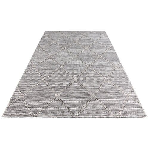 Yonne Grey Indoor Outdoor Rug Elle Decor Elle Decor Outdoor