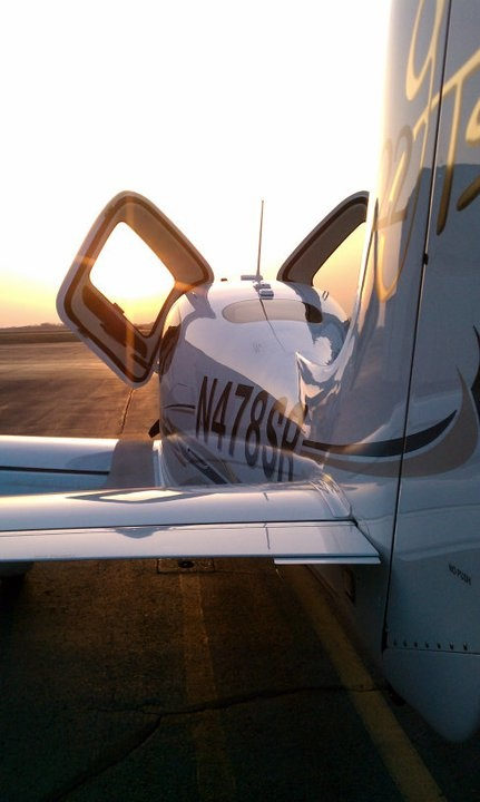 I love my Cirrus SR22!  Dependable, all-weather, fast, capable, cost effective traveling machine.  Cirrus turned the industry on their head when they introduced to glass cockpit & airframe parachute - good for them - and they deserve much success in the years ahead.