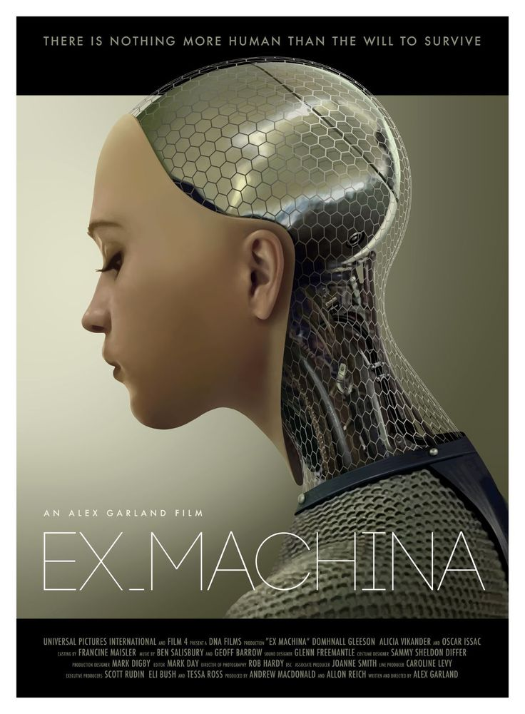 EX Machina Movie Banner 27 x 40 inches Vinyl Poster Hi Res | eBay