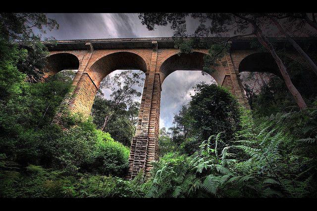 Knapsack Bridge (1863 - 1867), Blue Mountains, NSW, Australia by @-yury- on@Flickr
