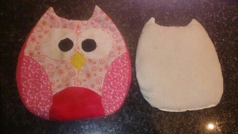 Owl heat pad and cover