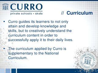 Curro Information Evening - Century City