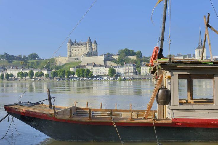 Vue sur le château de Saumur - Photo YLB