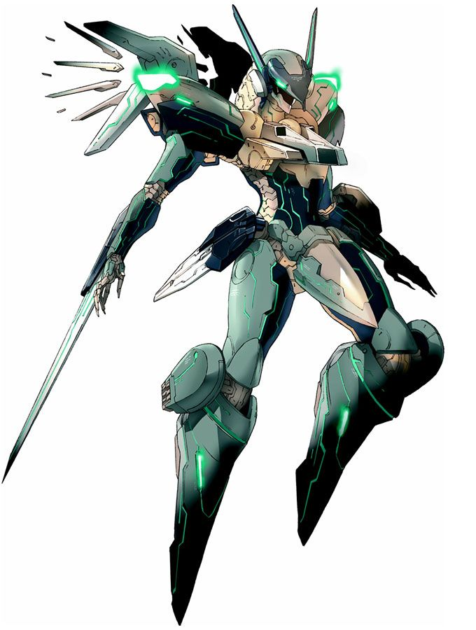 Jehuty from Zone of the Enders: The 2nd Runner