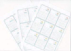 Kivágható bevásárló lista, jegyzetek, feladatok