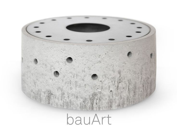 Teelichthalter - Stövchen *minimal* aus Beton - ein Designerstück von bauArt bei DaWanda