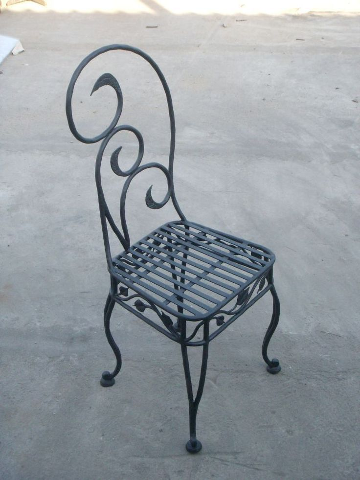 1432 best images on pinterest wrought iron for Iron furniture