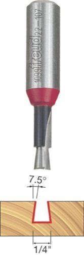 Freud 22107 14Inch Diameter 712Degree Dovetail Router Bit with 12Inch Shank Style 14Inch Diameter 712Degree Dovetail Router Bit with 12Inch Shank Model 22107 >>> Click on the gardening image for additional details.