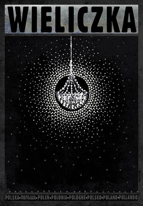 Ryszard Kaja Wieliczka Polish Promotion Poster