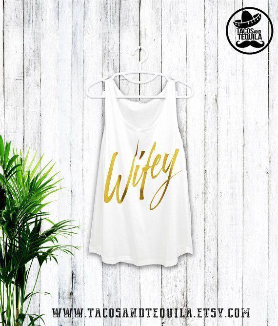 Wifey Bride Honeymoon shirt Wedding shirt Bridesmaid Bachelorette Shirts Bride g - Bridesmaid Shirt Funny - Ideas of Bridesmaid Shirt Funny #bridesmai...