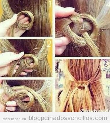 Peinado sencillo_cabello corto