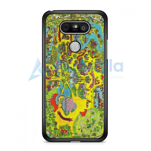 Vintage Walt Disney World Map Fantasyland 1971 LG G5 Case | armeyla.com