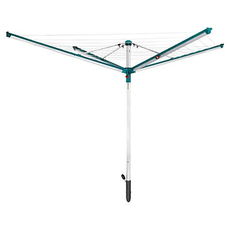 Buy Leifheit Linomatic Deluxe 600 Outdoor Rotary Clothes Airer Washing Line Online at johnlewis.com
