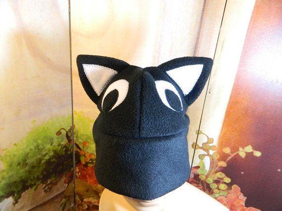 Cat Cap black eyes Gothic Anime Kawaii Punk Rock Costume Beanie