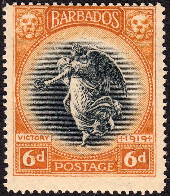 """Emision 1920.   """"Barbados"""""""