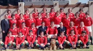 The British Lions squad 1974