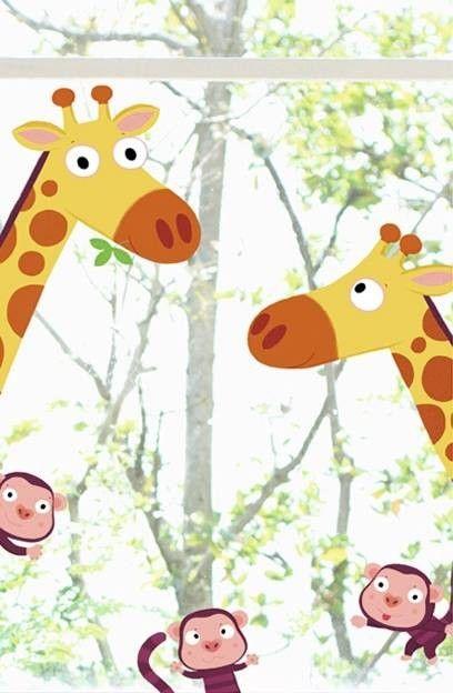 Die 25 besten ideen zu dschungel kinderzimmer auf for Kinderzimmer fensterdeko