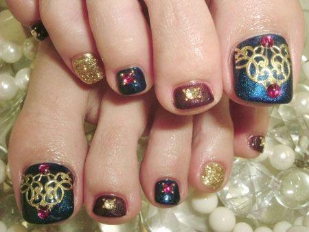 Cute Toe Nail Art Designs Ideas For Toes 2013 2014 1 Cute Toe Nail Art Designs & Ideas For Toes 2013/ 2014