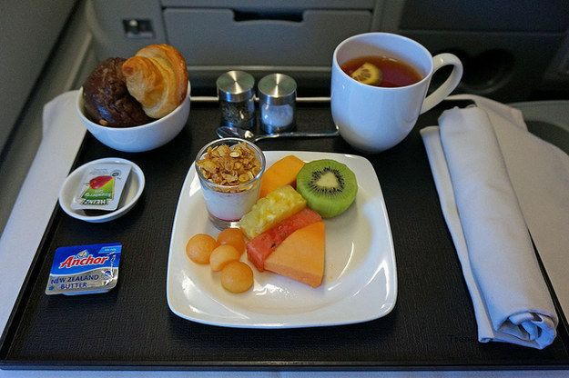 TransAsia Airways Meal | 18 Airline Foods From Around The World