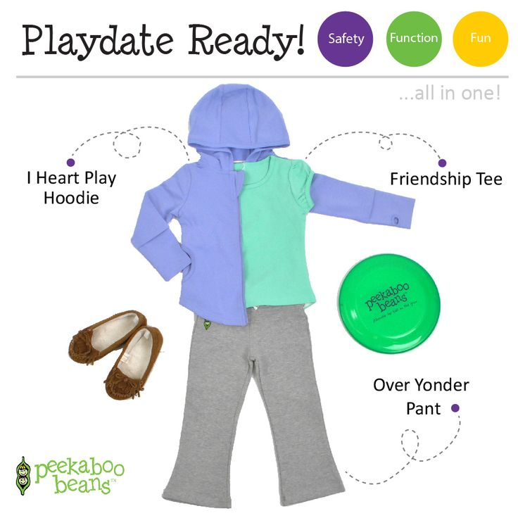 Frisbee Playin' Girl Bean! | Peekaboo Beans - playwear for kids on the grow! | Contact your local Play Stylist or shop On-Vine at www.peekaboobeans.com | #PBPlayfulPairings