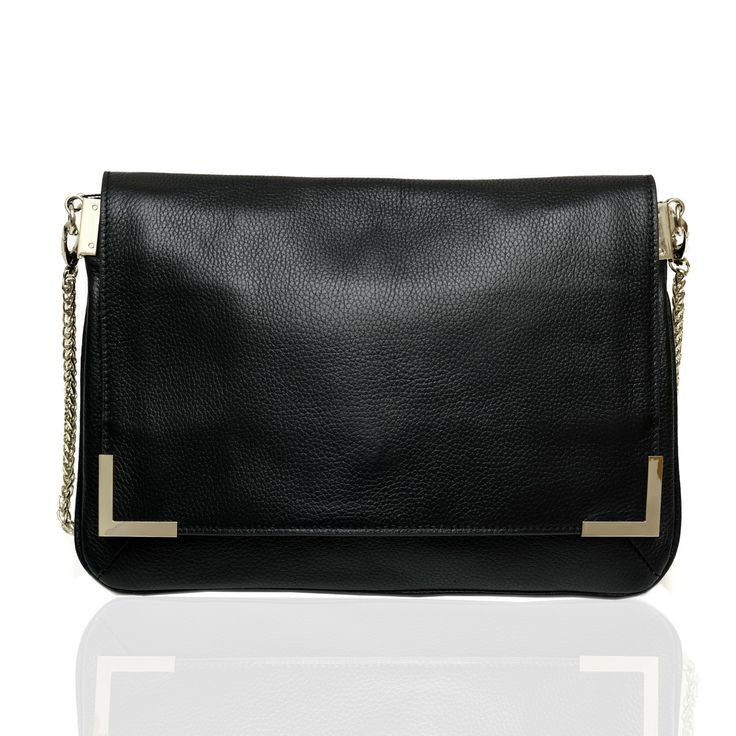 Stella Leather Handbag (Black) by Marlie & Co. | ilovehandbags.com.au