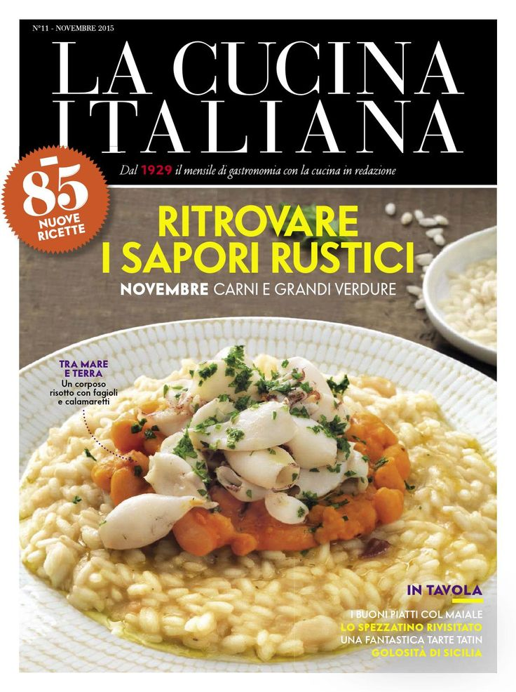 La cucina italiana novembre 2015