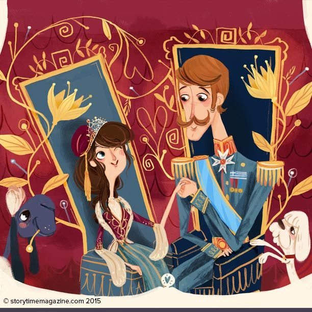One of our favourite heroines – The Clever Queen, a Greek story illustrated by Flavia Sorrentino (http://flaviasorrentino.blogspot.co.uk) in Storytime Issue 13! ~ STORYTIMEMAGAZINE.COM