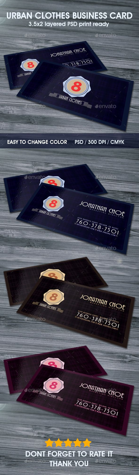urban business card | download: http://graphicriver.net/item/urban-clothes-business-card/9837935?s_phrase=&s_rank=10